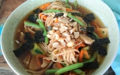 Thai-Inspired Vegetable Noodle Soup